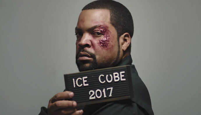 "Ice Cube, impactante en el videoclip ""Good Cop Bad Cop"""