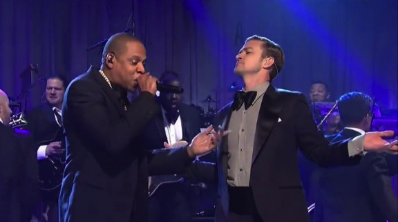 Jay Z y Justin Timberlake actuaron en Saturday Night Live
