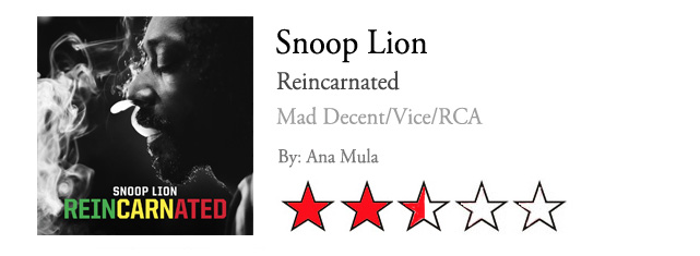 """Reincarnated"", de Snoop Dogg a Snoop Lion"