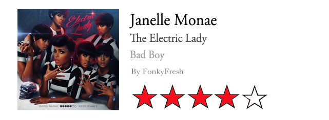 "Janelle Monáe mejora su primer trabajo con ""The Electric Lady"""