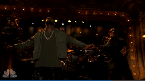 "Kanye West interpreta ""Bound 2"" en el programa de Jimmy Fallon"