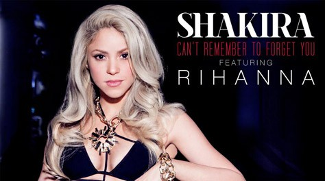 """Shakira y Rihanna estrenan su """"Can't Remember to Forget You"""""""